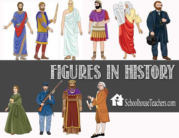 Figures In History on Schoolhouse Teachers