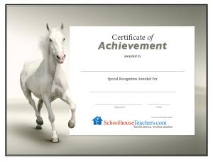 Certificates Gallery Schoolhouseteachers Com
