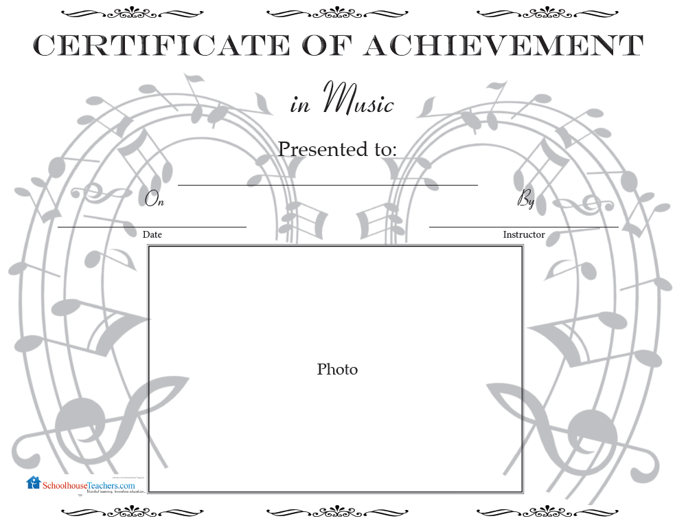 Certificate Library Awards On Schoolhouseteachers