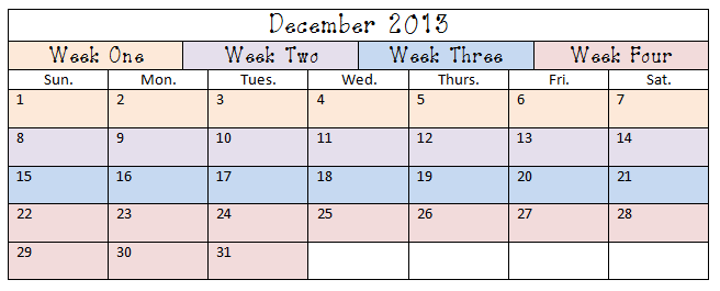 New Content-December