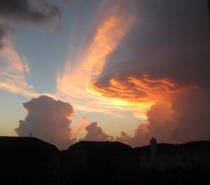 Beautiful Clouds, Grace P. age 12