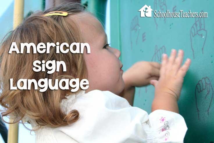 American Sign Language on Schoolhouse Teachers