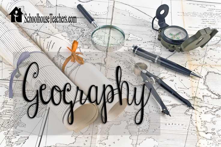 Geography on Schoolhouse Teachers