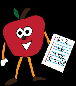 math apple