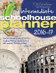 2016-2017 Intermediate Planner