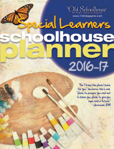 2016-2017 Special Needs Planner