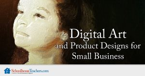 Digital Art and Product Designs for Small Business