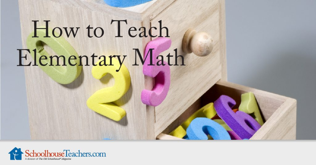 how to teach elementary math