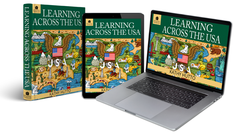 Learning Across the USA Homeschool Geography