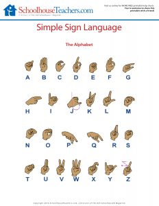 ST-Simple Sign Language