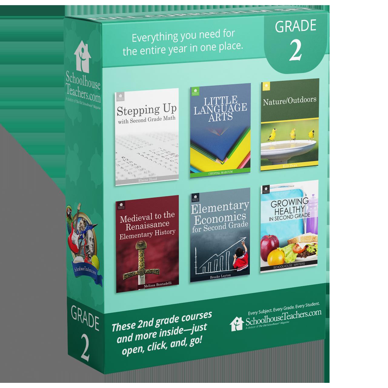 Grade 2 School Box - Back
