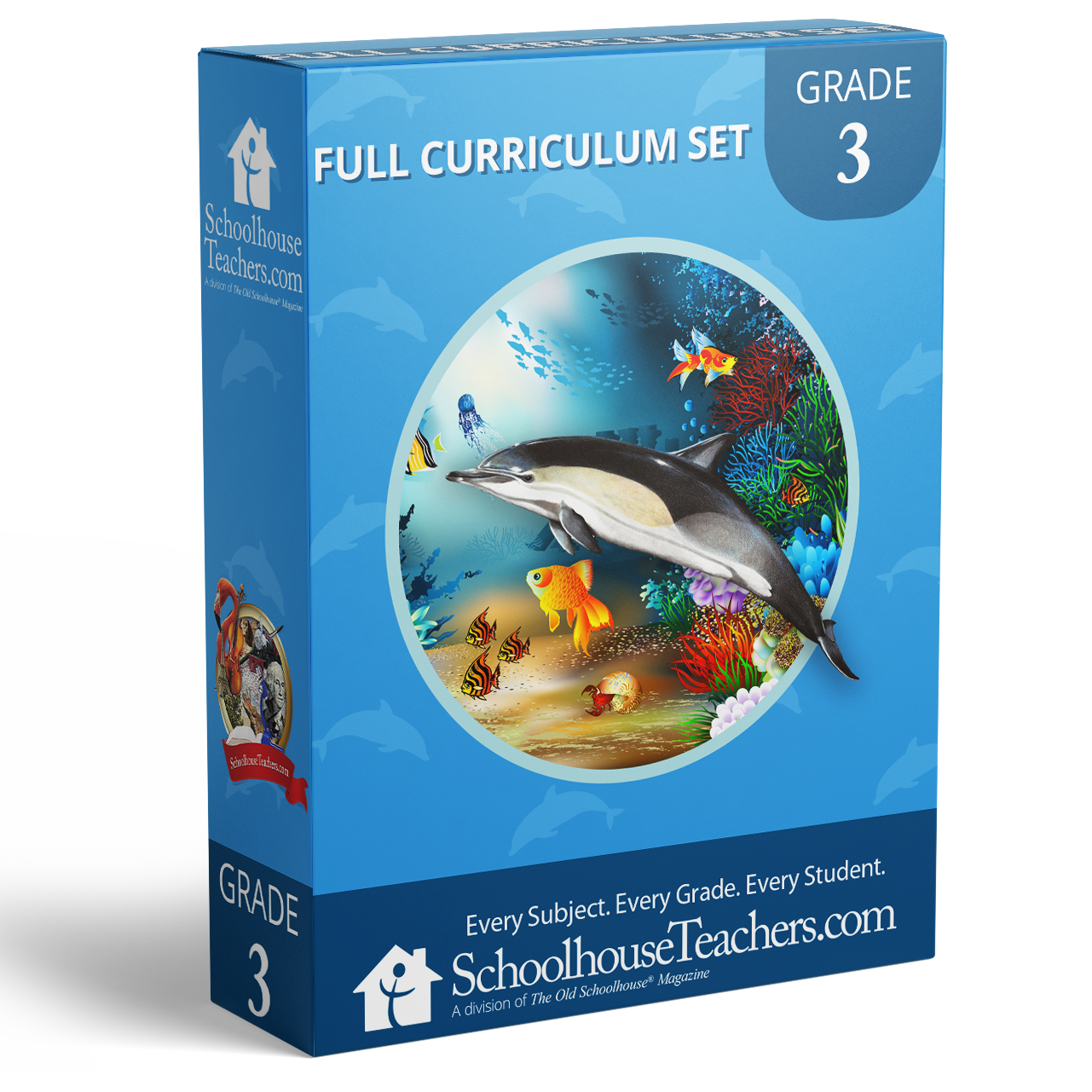 Grade 3 School Box - Front