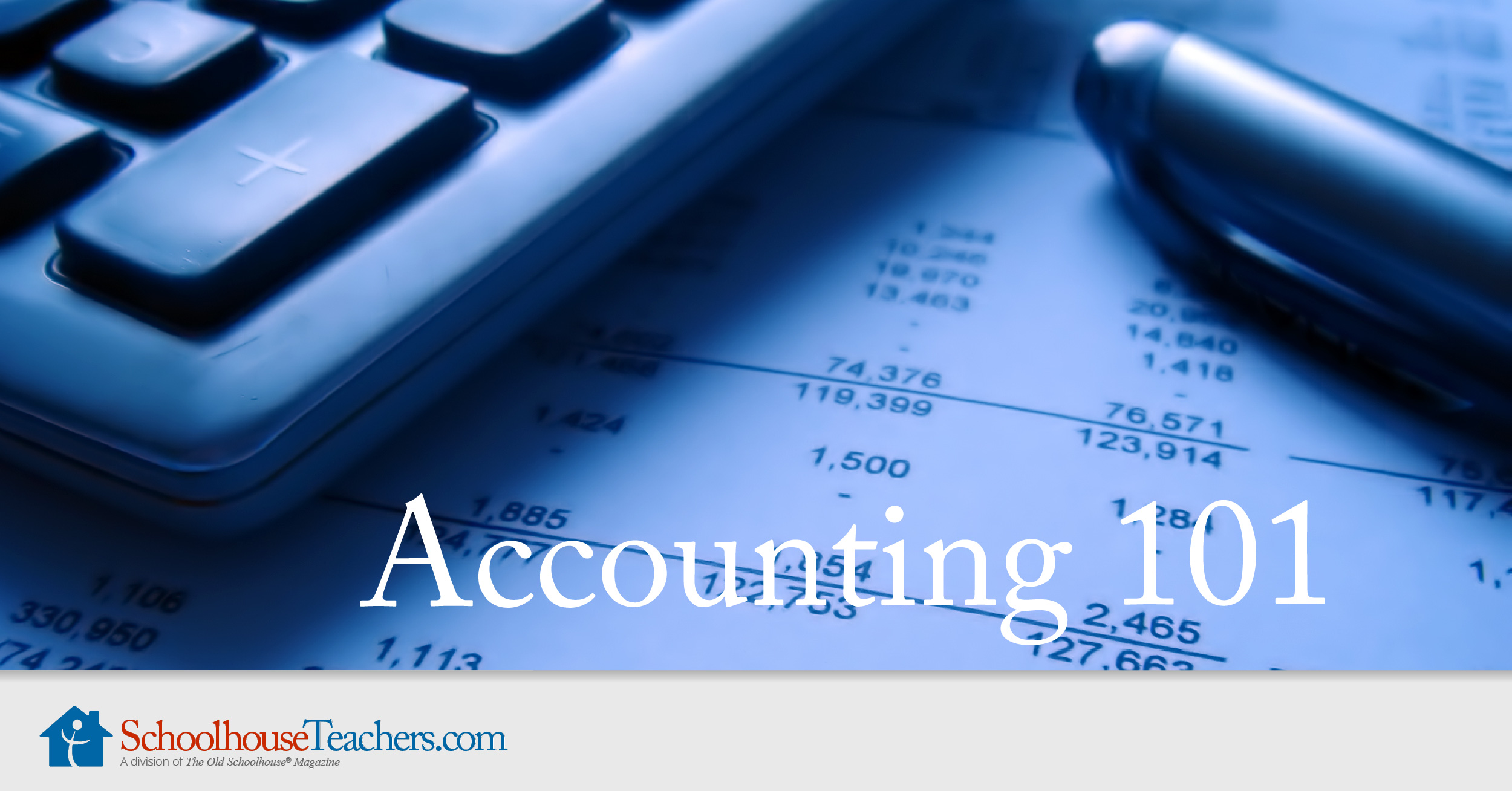 accouting 101 Welcome to accounting 101: learn basic accounting in 7 minutes this video teaches the basics of bookkeeping and accounting it includes details about.