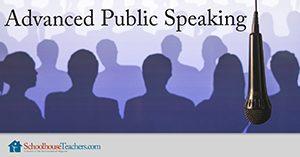 public speaking for homeschoolers