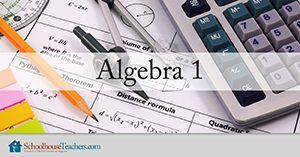 Algebra 1 Homeschool Math