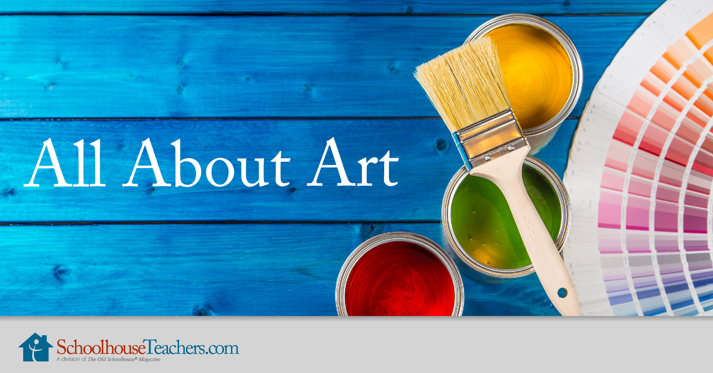 SchoolhouseTeachers.com, Online Classes, All About Art