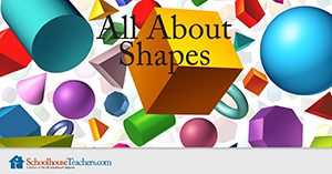 All About Shapes Homeschool Math