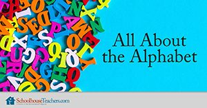 Homeschool Language Arts All About the Alphabet