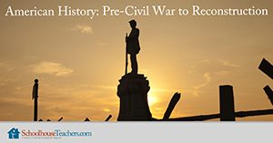Homeschool History American History Pre-Civil War