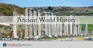 ancient world history homeschool