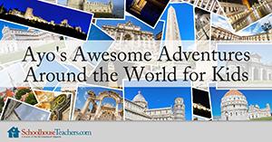 around the world for kids