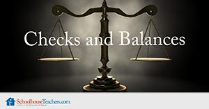 Checks and Balances Homeschool Social Studies