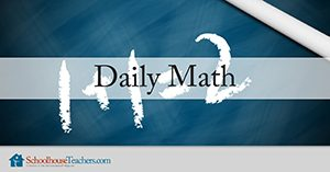 Daily Math Homeschool