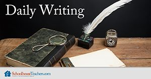 Homeschool Language Arts Daily Writing