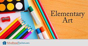 elementary art lessons