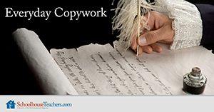 Homeschool Language Arts Everyday Copywork