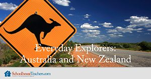 Everyday Explorers Australia and New Zealand Homeschool Geography