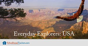Everyday Explorers USA Homeschool Geography
