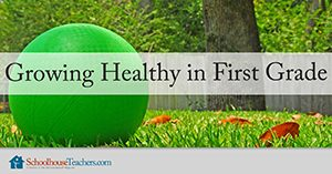 Growing Healthy in First Grade Homeschool Health and Fitness