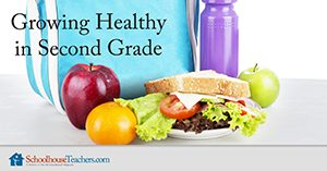 Growing Healthy in Second Grade Homeschool Health and Fitness