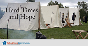 Homeschool History Hard Times and Hope