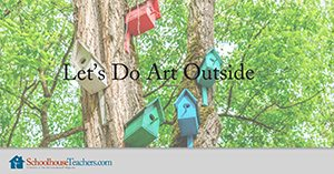 outside art activities