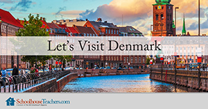 Denmark homeschool geography