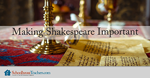 Shakespeare important homeschool course
