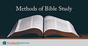 methods of Bible study