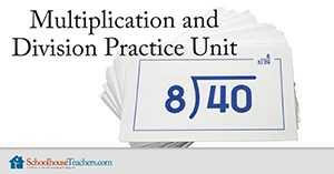 Multiplication and Division Practice Unit Homeschool Math
