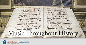 Music Throughout History Homeschool