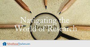 Homeschool Language Arts Navigating the World of Research