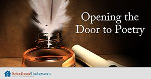 Homeschool Language Arts Opening the Door to Poetry