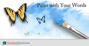 Homeschool Language Arts Paint with your Words