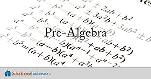 Pre-Algebra Homeschool Math