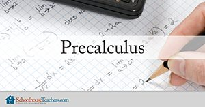Precalculus Homeschool Math