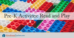 Homeschool Language Arts Pre-K Activities Read and Play