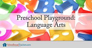 Homeschool Language Arts Preschool Playground