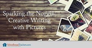 Creative Writing with Pictures Homeschool Language Arts