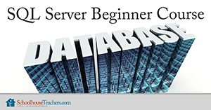 SQL server beginner course